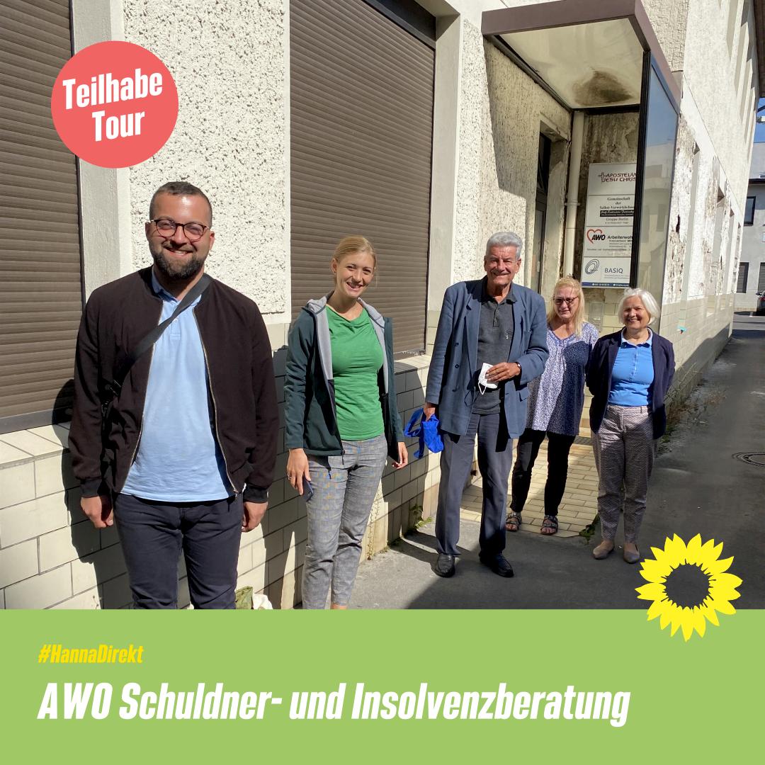 Teilhabe Tour bei der AWO Schuldner- und Insolvenzberatung